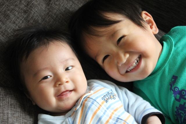 二人育児 子ども 赤ちゃん